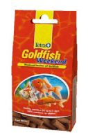 Tetra Goldfish Weekend Stick Food Holiday for Coldwater Fish TetraFin X5